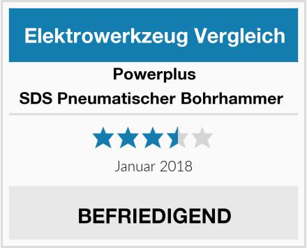 PowerPlus SDS Pneumatischer Bohrhammer  Test