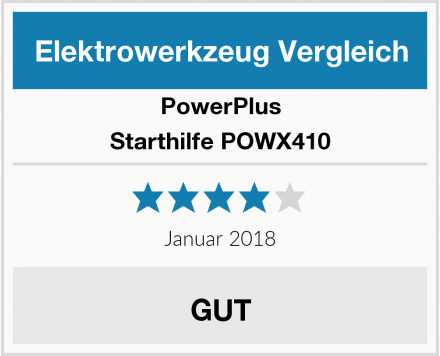 PowerPlus Starthilfe POWX410 Test
