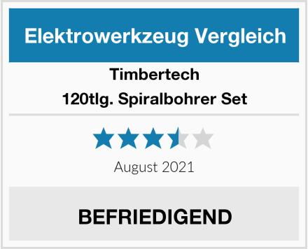 Timbertech 120tlg. Spiralbohrer Set Test