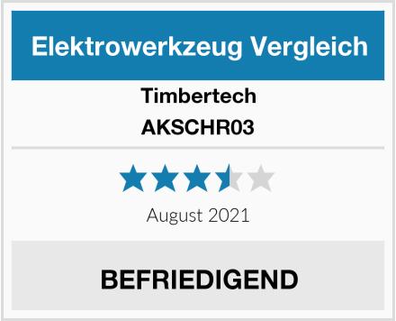 Timbertech AKSCHR03 Test