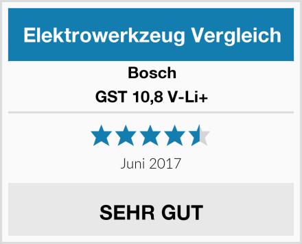 Bosch GST 10,8 V-Li+ Test
