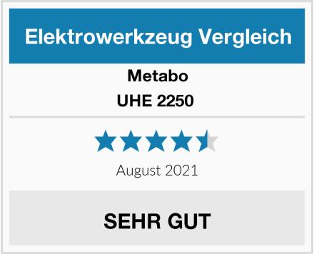Metabo UHE 2250  Test