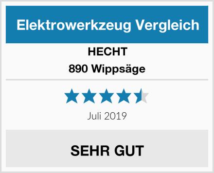 Hecht 890 Wippsäge Test