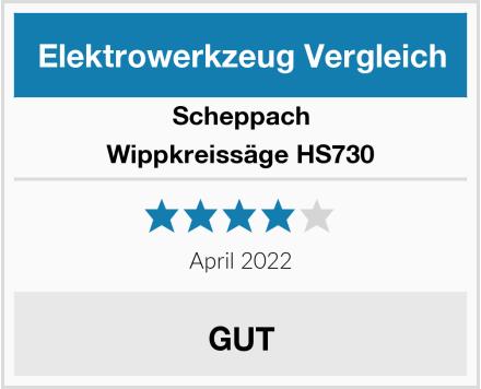 Scheppach Wippkreissäge HS730 Test