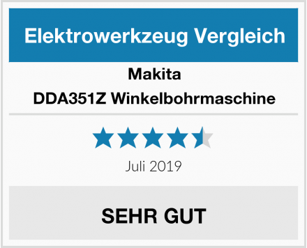Makita DDA351Z Winkelbohrmaschine Test