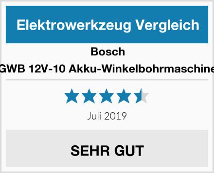 Bosch GWB 12V-10 Akku-Winkelbohrmaschine Test