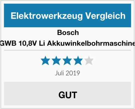 Bosch GWB 10,8V Li Akkuwinkelbohrmaschine Test