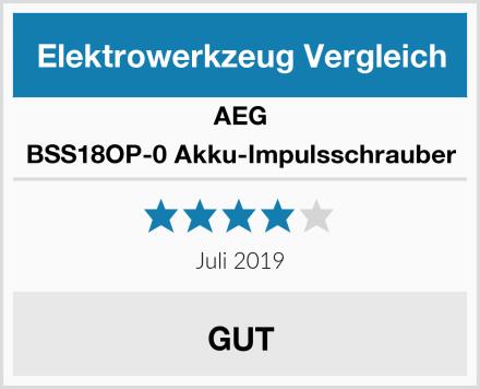 AEG BSS18OP-0 Akku-Impulsschrauber Test