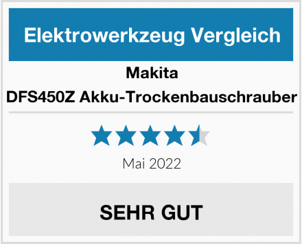 Makita DFS450Z Akku-Trockenbauschrauber Test