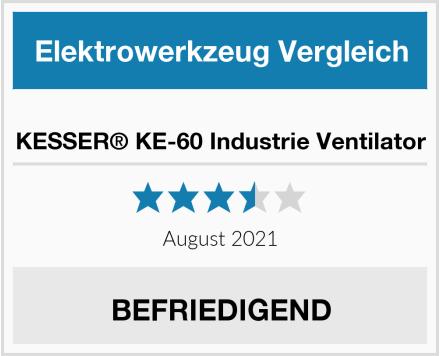 KESSER® KE-60 Industrie Ventilator Test