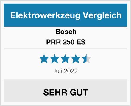 Bosch PRR 250 ES Test