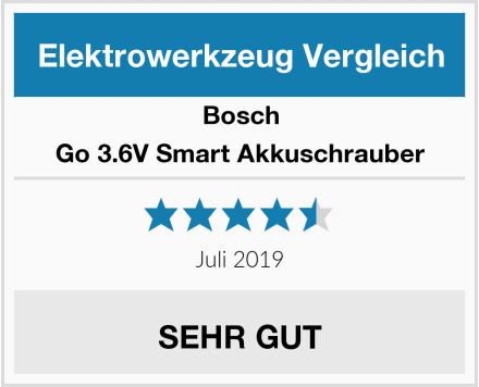 Bosch Go 3.6V Smart Akkuschrauber Test