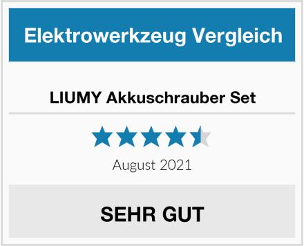 LIUMY Akkuschrauber Set Test