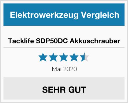 Tacklife SDP50DC Akkuschrauber Test