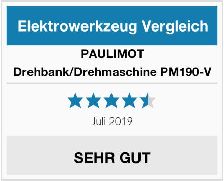 PAULIMOT Drehbank/Drehmaschine PM190-V Test