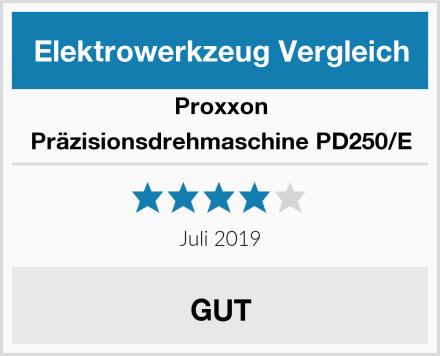 Proxxon Präzisionsdrehmaschine PD250/E Test