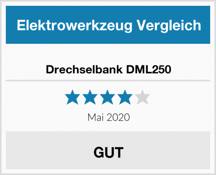Drechselbank DML250 Test