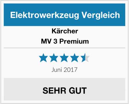 Kärcher MV 3 Premium Test