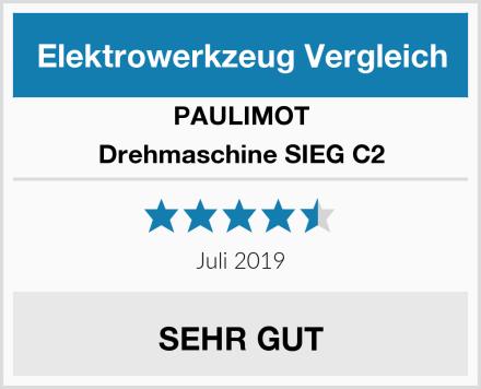 PAULIMOT Drehmaschine SIEG C2 Test
