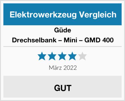 Güde Drechselbank – Mini – GMD 400 Test