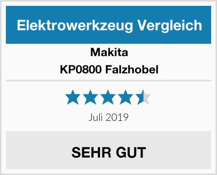 Makita KP0800 Falzhobel Test