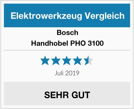 Bosch Handhobel PHO 3100 Test