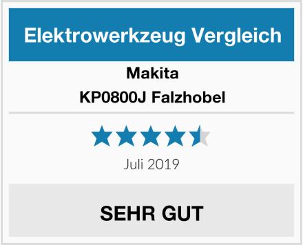 Makita KP0800J Falzhobel Test