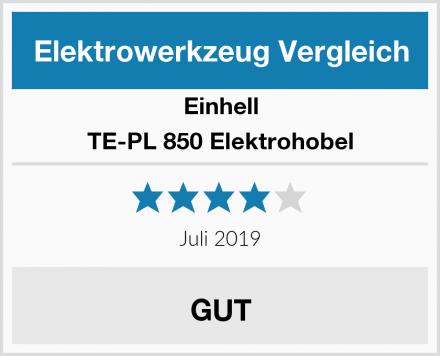 Einhell TE-PL 850 Elektrohobel Test