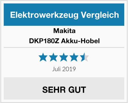 Makita DKP180Z Akku-Hobel Test