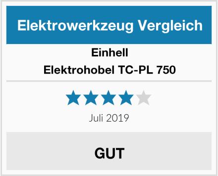 Einhell Elektrohobel TC-PL 750 Test