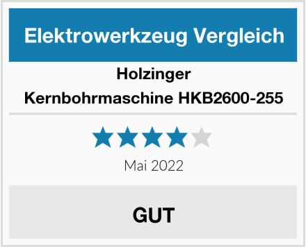 Holzinger Kernbohrmaschine HKB2600-255 Test