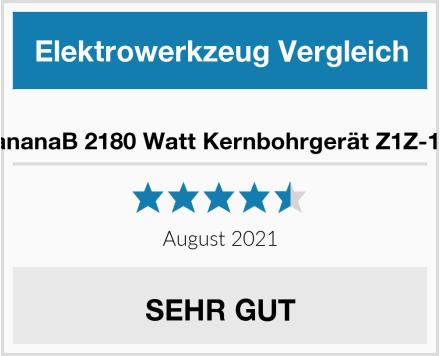BananaB 2180 Watt Kernbohrgerät Z1Z-160 Test