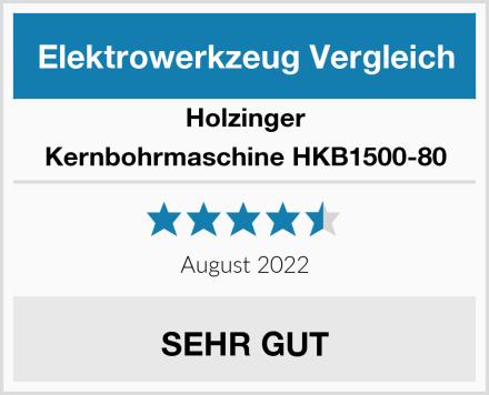 Holzinger Kernbohrmaschine HKB1500-80 Test
