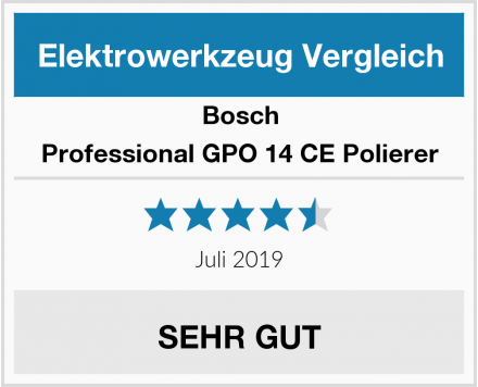 Bosch Professional GPO 14 CE Polierer Test