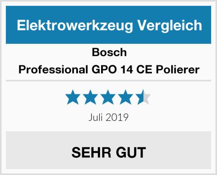 Bosch Professional GPO 14 CE Polierer Test