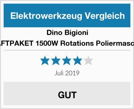 Dino Bigioni KRAFTPAKET 1500W Rotations Poliermaschine Test