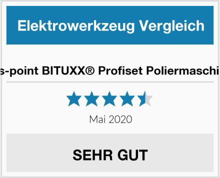 No Name ms-point BITUXX® Profiset Poliermaschine Test