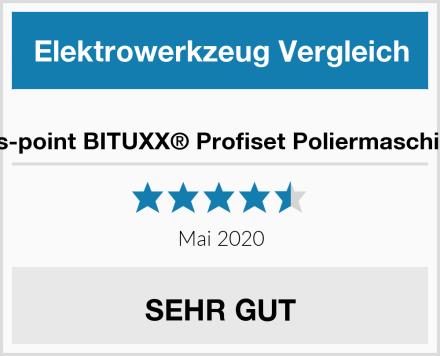 ms-point BITUXX® Profiset Poliermaschine Test