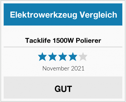 Tacklife 1500W Polierer Test