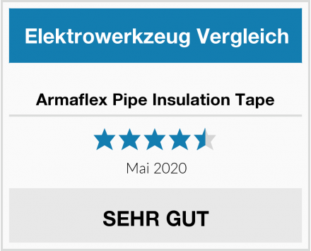 Armaflex Pipe Insulation Tape Test