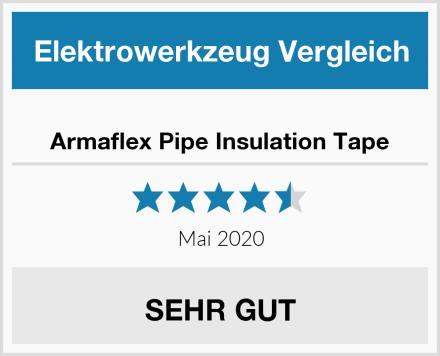 Armaflex Pipe Insulation Tape Test