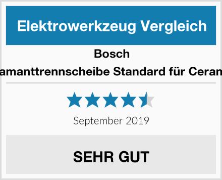 Bosch Diamanttrennscheibe Standard für Ceramic Test