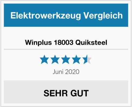 Winplus 18003 Quiksteel Test