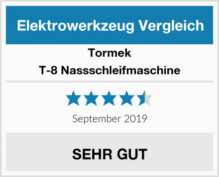 Tormek T-8 Nassschleifmaschine Test