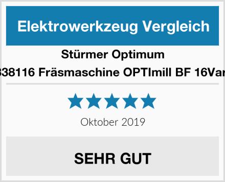 Stürmer Optimum 3338116 Fräsmaschine OPTImill BF 16Vario Test