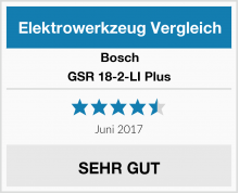 Bosch GSR 18-2-LI Plus Test