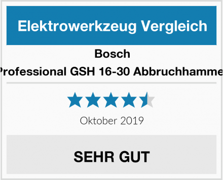 Bosch Professional GSH 16-30 Abbruchhammer Test