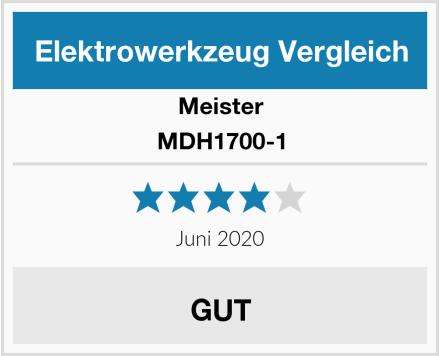 Meister MDH1700-1 Test