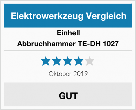 Einhell Abbruchhammer TE-DH 1027 Test
