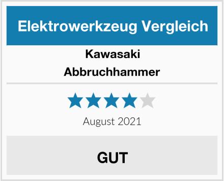 Kawasaki Abbruchhammer Test